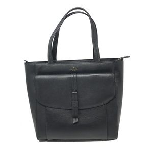 Kate Spade Roselyn Hunts Place Black Leather tote